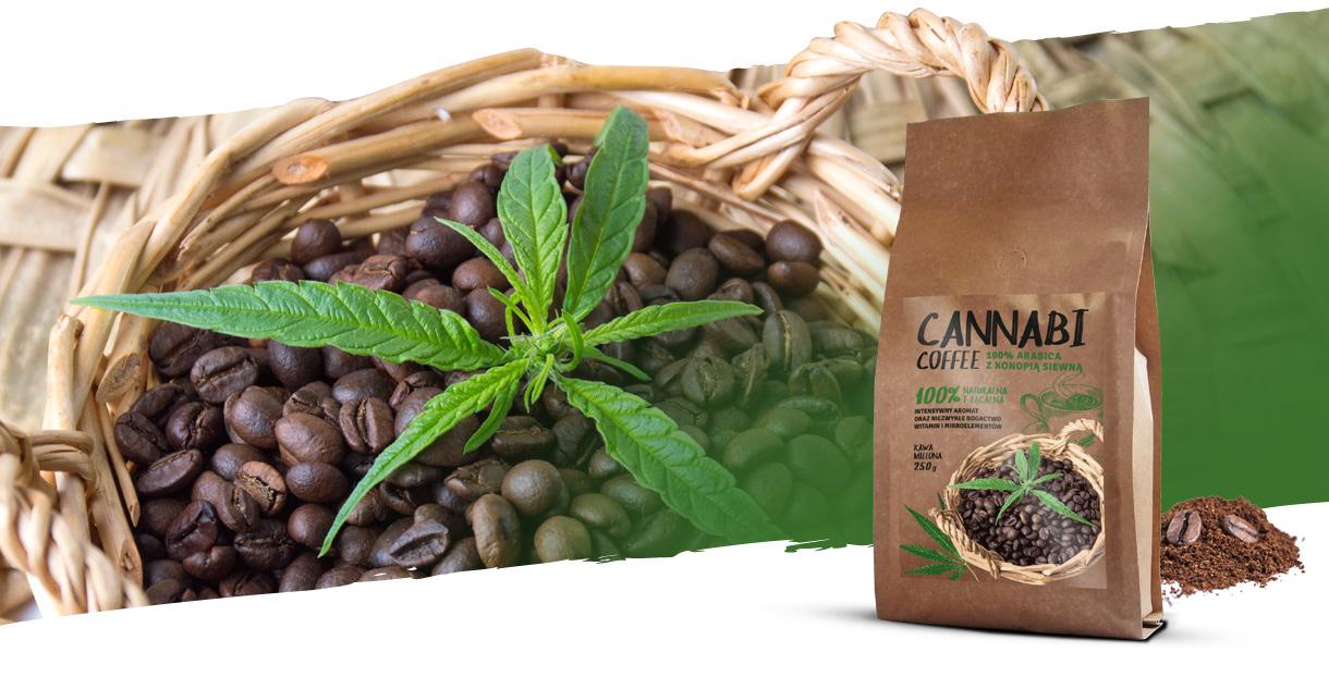 Cannabi coffee - kawa mielona z dodatkim konopi siewnej