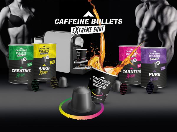 Caffeine Bullets - shoty kofeinowe na siłownię